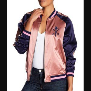 Opening Ceremony Reversible Silk Bomber Jacket,  M